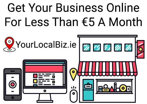 Get your business online for less than €5 a month